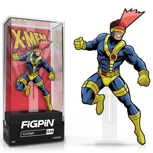Marvel X-Men The Animated Series: FiGPiN Enamel Pin Cyclops [638]