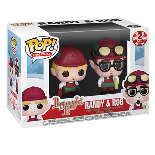 Christmas Pop! Vinyl Figure Peppermint Lane Randy & Rob