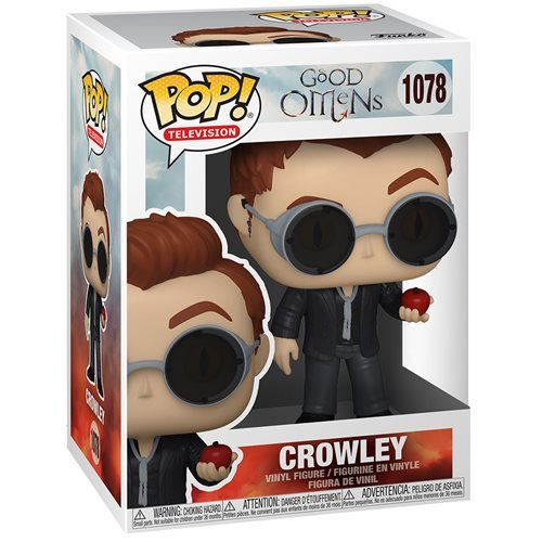 Good Omens Pop! Vinyl Figure Crowley with Apple [1078]