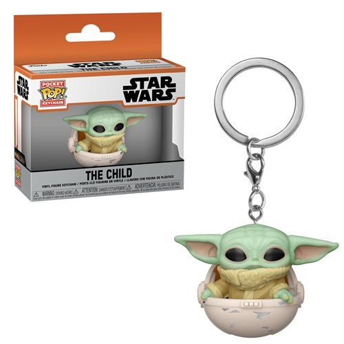 Star Wars The Mandalorian Pocket Pop! Keychain The Child in Pod