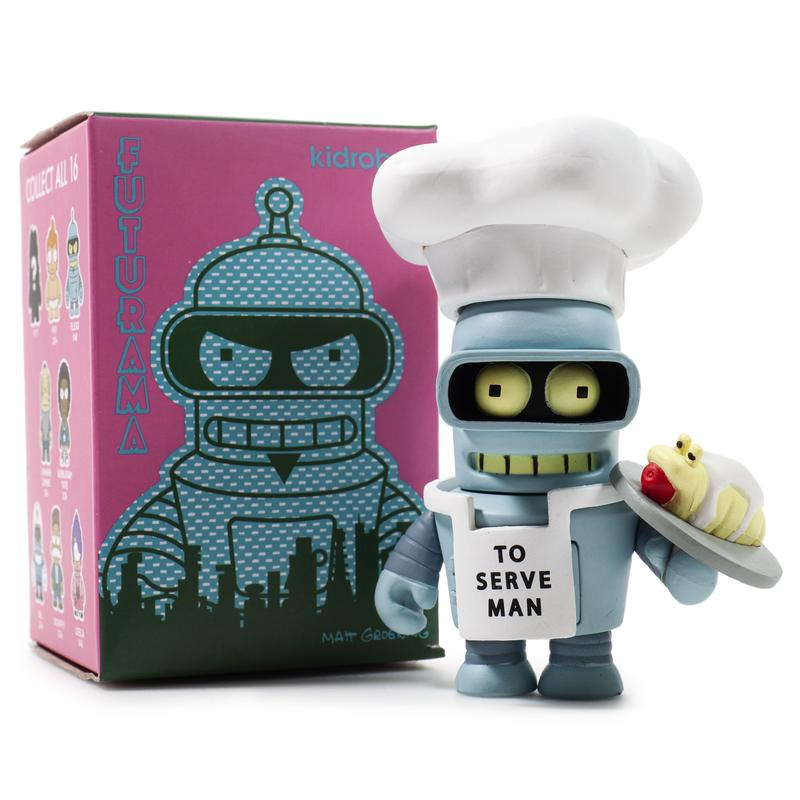 Kidrobot Futurama Good News Everyone Mini Series (1 Blind Box)