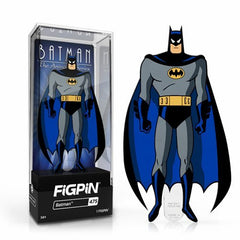 DC Batman The Animated Series: FiGPiN Enamel Pin Batman [475] - Fugitive Toys