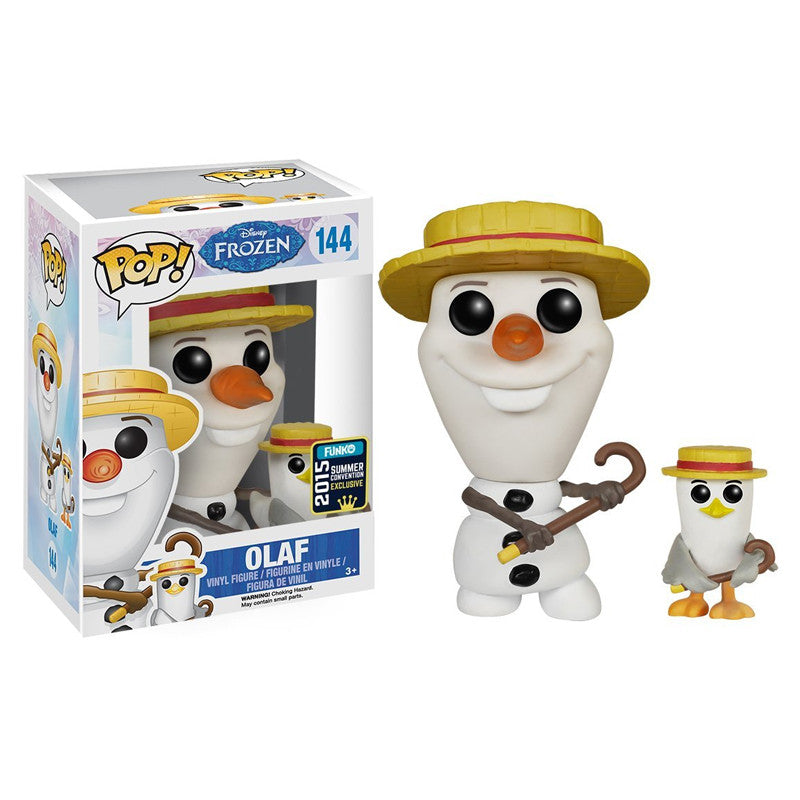 Disney Pop! Vinyl Figure Barbershop Quartet Olaf [Frozen] Exclusive - Fugitive Toys