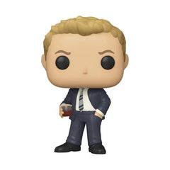 How I Met Your Mother Pop! Vinyl Figure Barney Stinson in Suit [1043] - Fugitive Toys