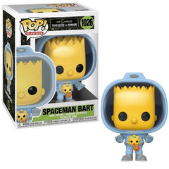 The Simpsons Treehouse of Horror Pop! Vinyl Figure Spaceman Bart [1026]