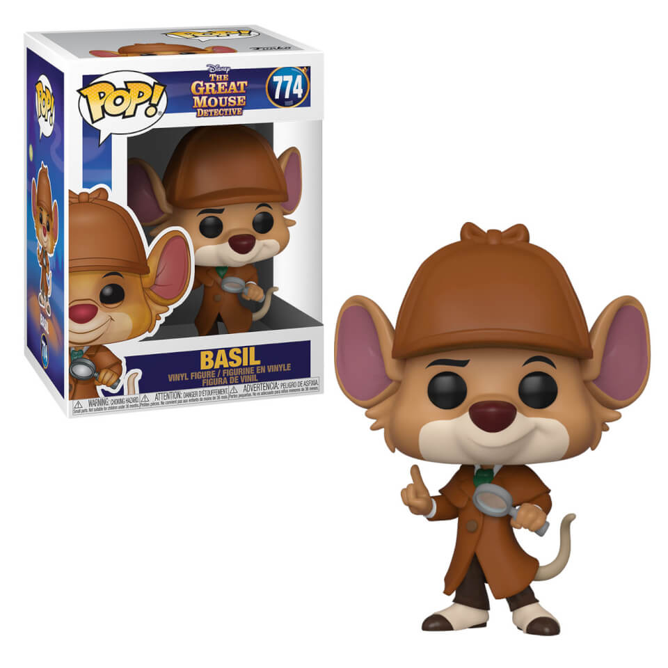 Disney Pop! Vinyl Great Mouse Detective Basil [774]