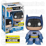 DC Universe Pop! Vinyl Figure Blue Batman 75th Anniversary Rainbow [Entertainment Earth Exclusive]