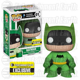 DC Universe Pop! Vinyl Figure Green Batman 75th Anniversary Rainbow [Entertainment Earth Exclusive]