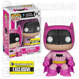 DC Universe Pop! Vinyl Figure Pink Batman 75th Anniversary Rainbow [Entertainment Earth Exclusive]