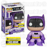 DC Universe Pop! Vinyl Figure Purple Batman 75th Anniversary Rainbow [Entertainment Earth Exclusive]