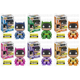 DC Universe Pop! Vinyl Figure Batman 75th Anniversary Rainbow Set [Entertainment Earth Exclusive]
