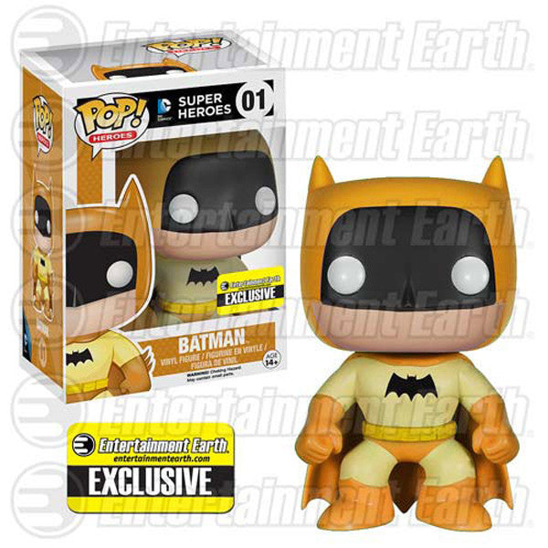 DC Universe Pop! Vinyl Figure Yellow Batman 75th Anniversary Rainbow [Entertainment Earth Exclusive]
