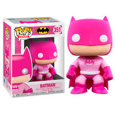 DC Pop! Vinyl Figure Breast Cancer Awareness Batman Pink [351]