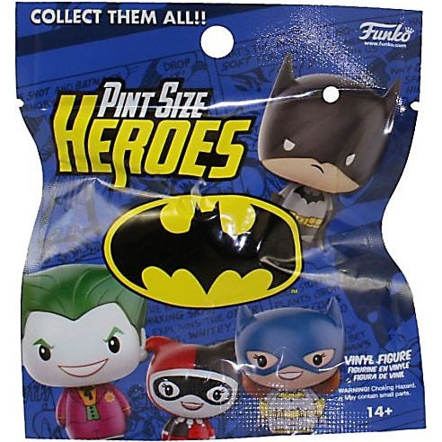 Funko Pint Size Heroes DC Comics Batman: (1 Blind Pack)