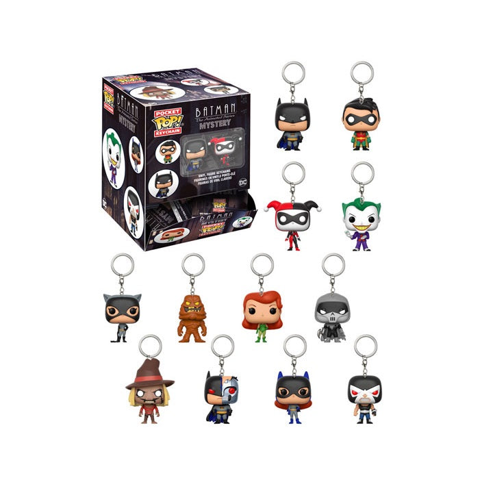 Mystery Pocket Pop! Keychain Batman The Animated Series: (1 Blind Pack)