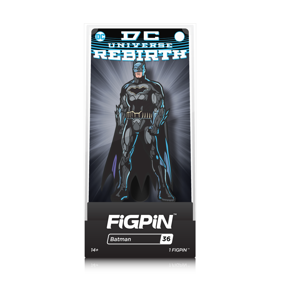 DC Comics Rebirth: FiGPiN Enamel Pin Batman [36]