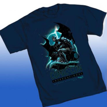 2014 San Diego Comic Con The Dark Knight Batman Shirt by Jim Lee (Large)
