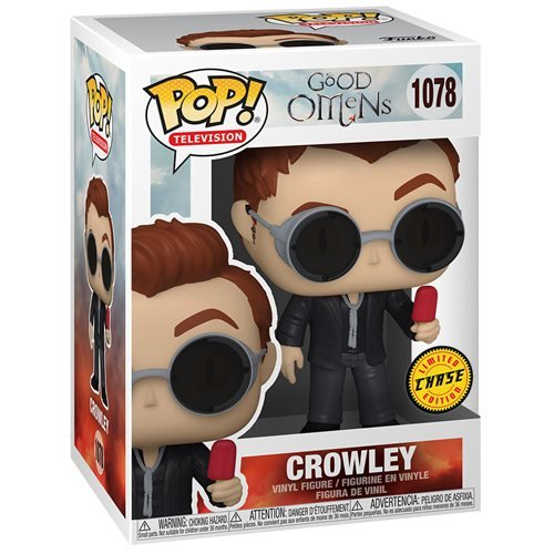 Good Omens Pop! Vinyl Figure Crowley with Popsicle (Chase) [1078]
