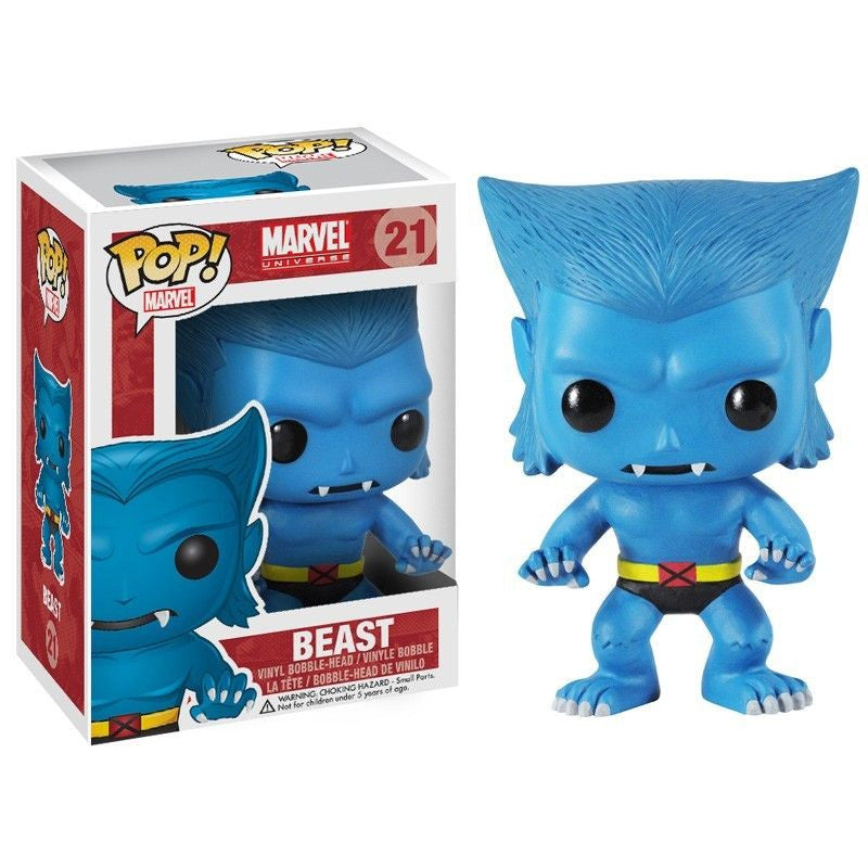 Marvel Pop! Vinyl Bobblehead Beast [21]
