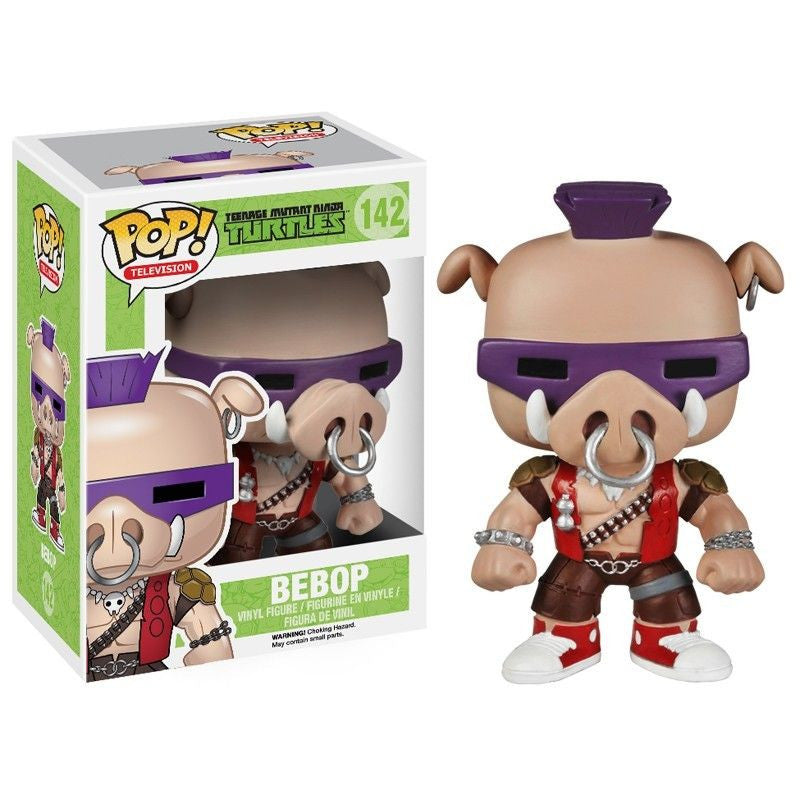 Teenage Mutant Ninja Turtles Pop! Vinyl Figure Bebop - Fugitive Toys