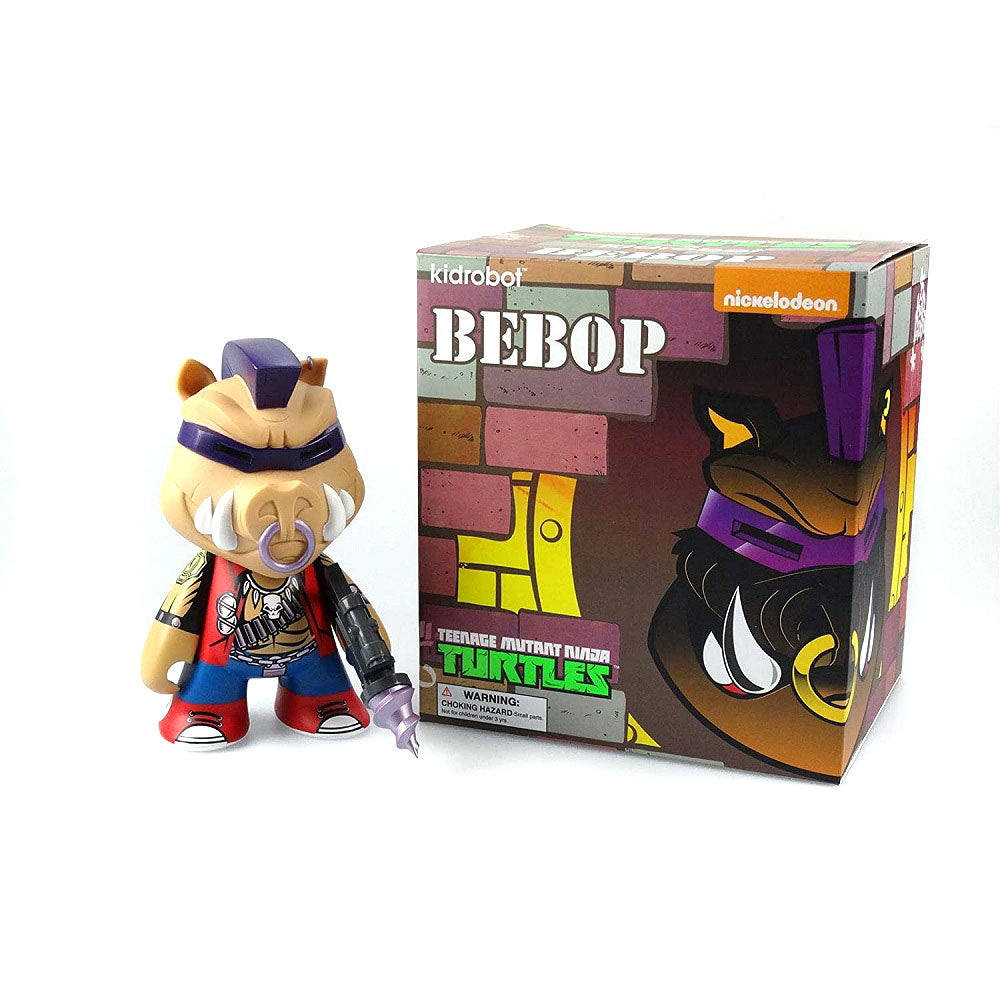 "Kidrobot x Teenage Mutant Ninja Turtles Bebop 7"" Inch Vinyl Figure - Fugitive Toys"