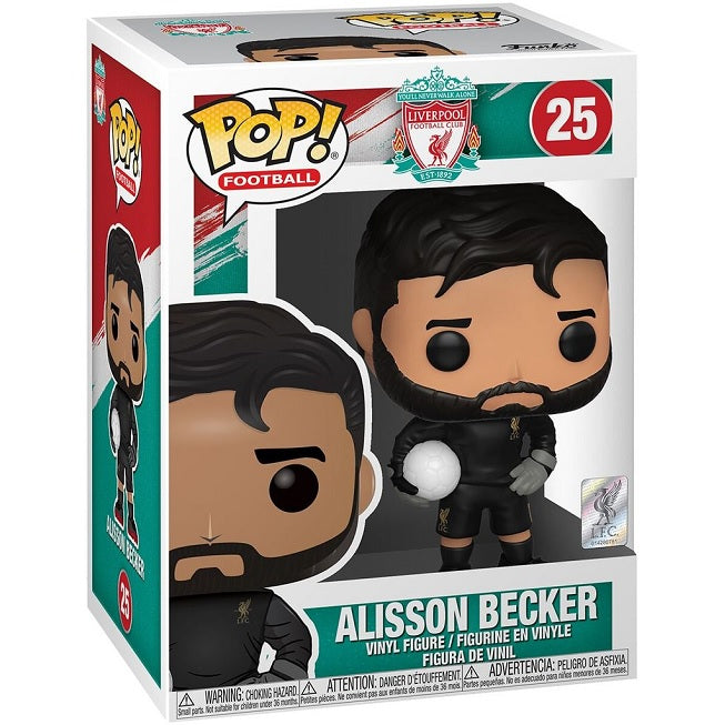 Soccer Pop! Vinyl Figure Alisson Becker [Liverpool] [25]