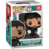 Soccer Pop! Vinyl Figure Alisson Becker [Liverpool] [25] - Fugitive Toys