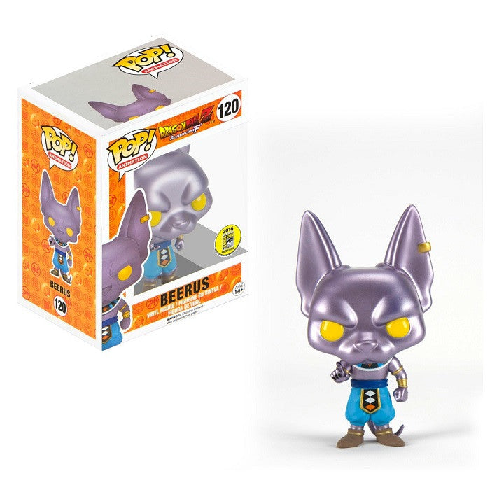 Dragonball Z Pop! Vinyl Figure Beerus [Funimation Exclusive]