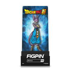 Dragon Ball Super: FiGPiN Enamel Pin Beerus [122]