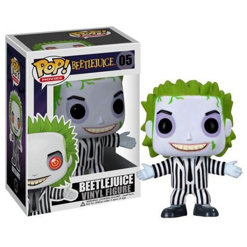Movies Pop! Vinyl Figure Beetlejuice [05] - Fugitive Toys