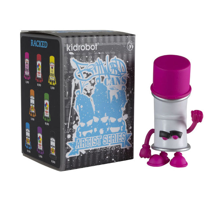 Kidrobot Bent World Spray Cans Mini Series Artist Series: (1 Blind Box) - Fugitive Toys