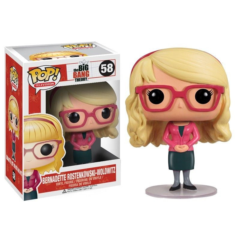 The Big Bang Theory Pop! Vinyl Figure Bernadette Rostenkowski-Wolowitz