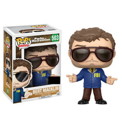 Parks and Recreation Pop! Vinyl Figure Bert Macklin [503]