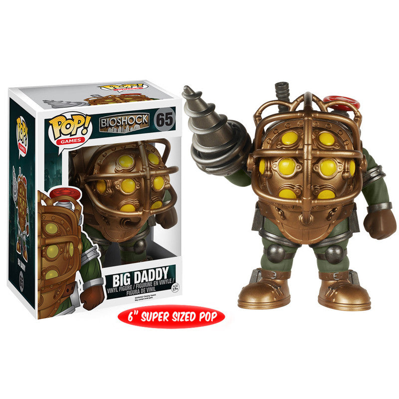 Bioshock Pop! Vinyl Figure Big Daddy [6-Inch]