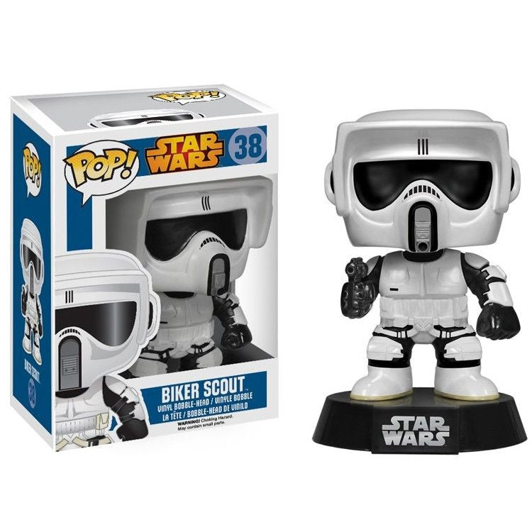 Star Wars Pop! Vinyl Bobblehead Biker Scout