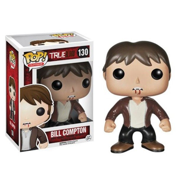 True Blood Pop! Vinyl Figure Bill Compton - Fugitive Toys