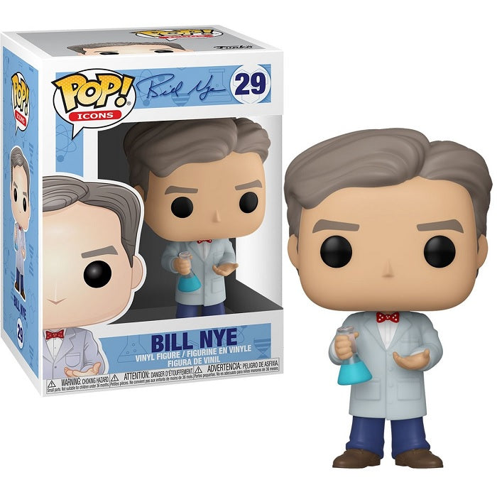 Bill Nye Pop! Vinyl Figure Bill Nye: The Science Guy [29]