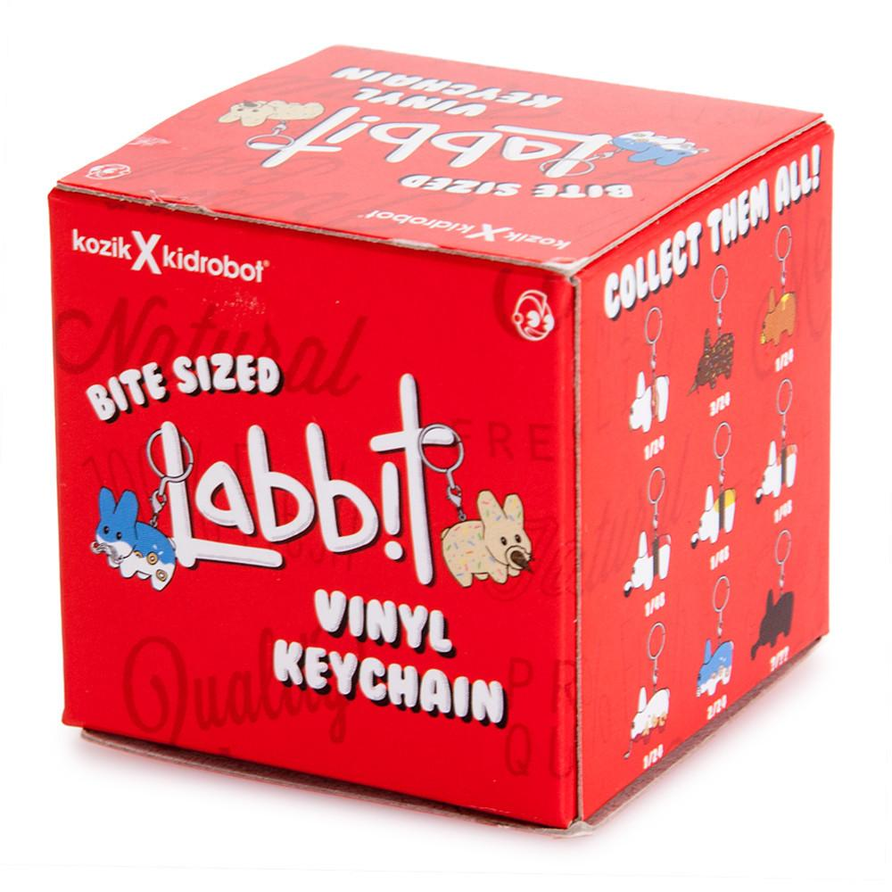 Kidrobot Bite Sized Labbit Vinyl Keychain Series: (1 Blind Box)