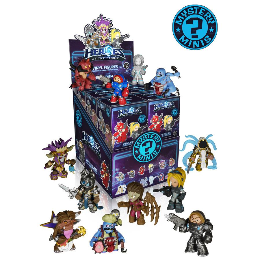 Blizzard's Heroes of the Storm Mystery Minis: (Case of 12) - Fugitive Toys