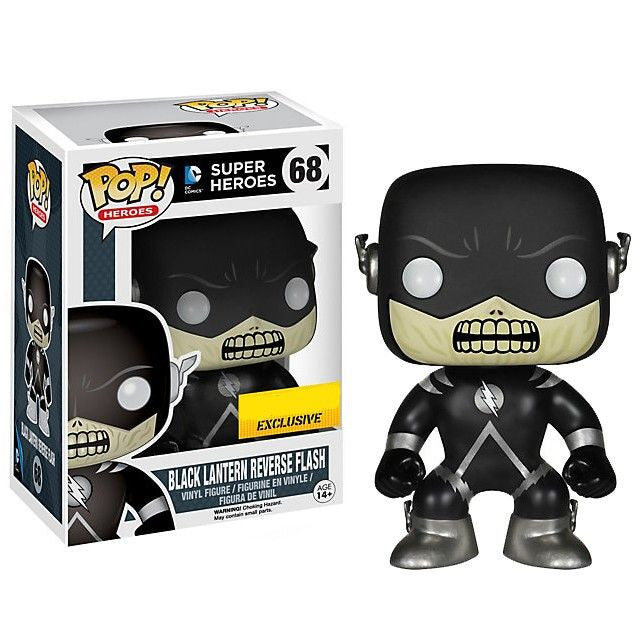 DC Universe Pop! Vinyl Figure Black Lantern Reverse Flash [Exclusive]