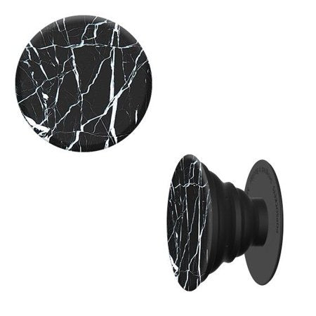 PopSockets Designs: Black Marble