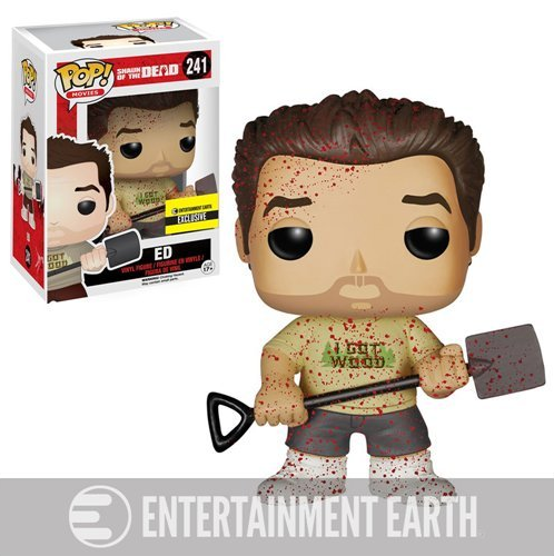 Shaun of the Dead Pop! Vinyl Figures Bloody Ed [241]