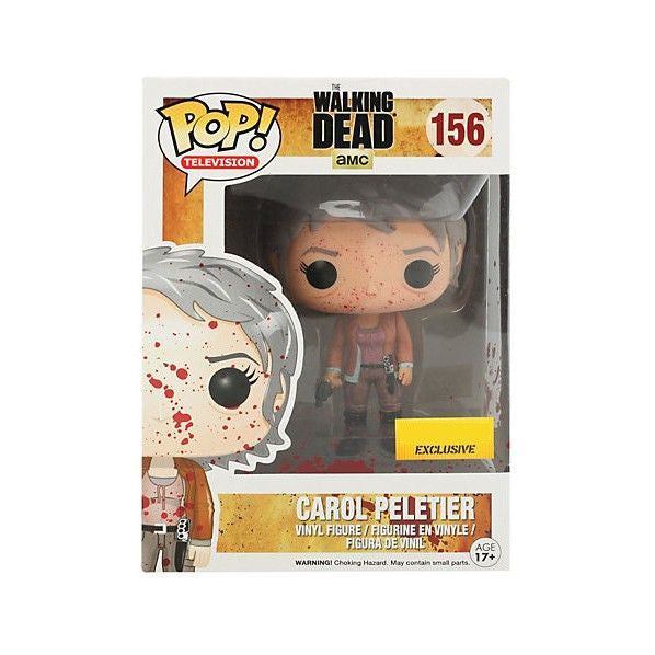 The Walking Dead Pop! Vinyl Figure Blood Splattered Carol Peletier [Exclusive]