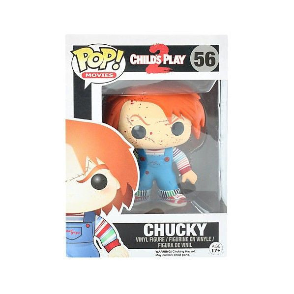 Movies Pop! Vinyl Figure Blood Splattered Chucky [Child's Play 2] Exclusive