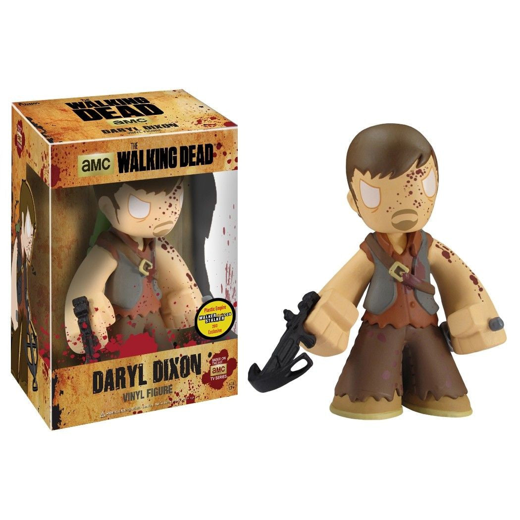 The Walking Dead 7-Inch Vinyl Figure Bloody Daryl Dixon [Plastic Empire Exclusive] - Fugitive Toys