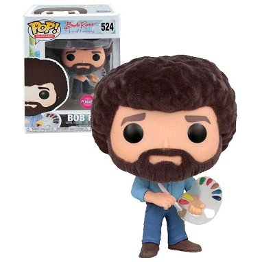 Bob Ross Pop! Vinyl Figures Flocked Bob Ross [524]