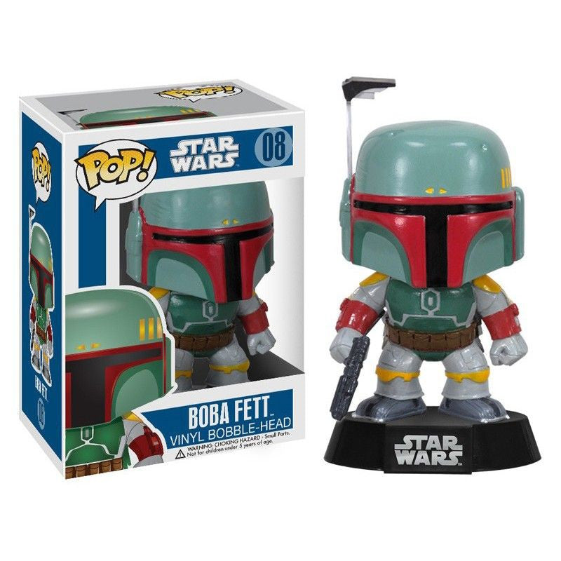 Star Wars Pop! Vinyl Bobblehead Boba Fett [08] - Fugitive Toys