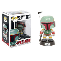 Star Wars Pop! Vinyl Figure Boba Fett [Black Box] [08] - Fugitive Toys