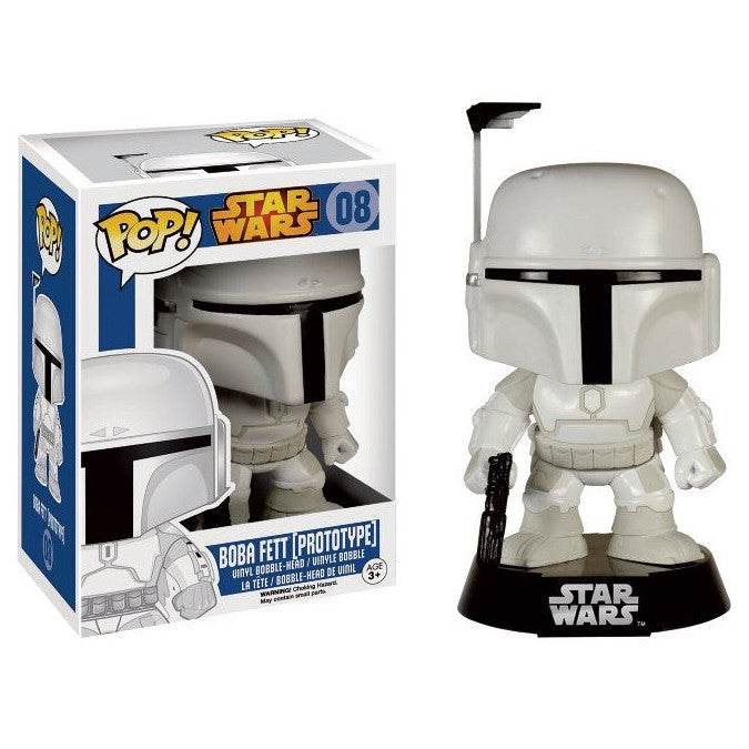 Star Wars Pop! Vinyl Bobblehead Boba Fett [Prototype Suit] Exclusive