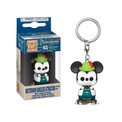 Disney 65th Anniversary Pocket Pop! Keychain Matterhorn Bobsled Mickey